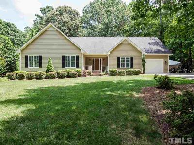 Wake Forest Single Family Home Contingent: 4504 Old Larkin Court