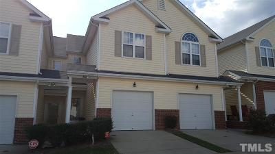 Knightdale Townhouse Pending: 908 Hadel Place