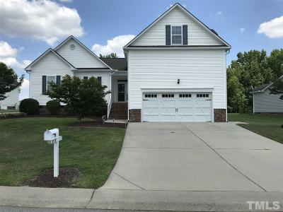 Benson Single Family Home For Sale: 105 Wilmont Court