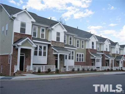 Cary Townhouse For Sale: 716 Blossom Grove Drive