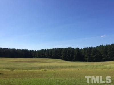Johnston County Residential Lots & Land For Sale: 5352 W Nc 210 Highway