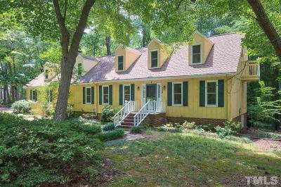 Cary NC Single Family Home For Sale: $425,000