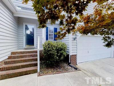Cary Single Family Home Contingent: 109 Bridlebit Court