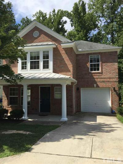 Raleigh NC Single Family Home For Sale: $157,500