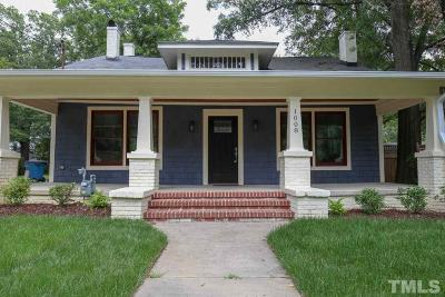 Durham Single Family Home Contingent: 1008 N Gregson Street