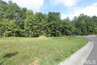 Durham County Residential Lots & Land For Sale: 3509 Golden Heather Drive