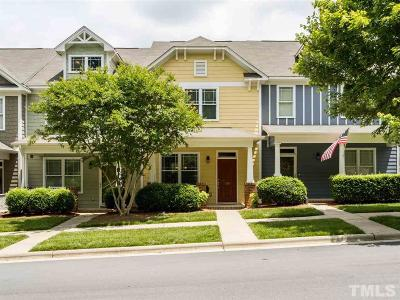 Pittsboro Townhouse For Sale: 130 Millbrook Drive
