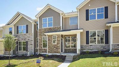 Wake Forest Townhouse For Sale: 820 Sunshade Creek Drive