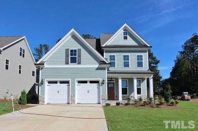 Holly Springs Single Family Home For Sale: 233 Logans Manor Drive