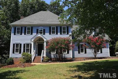 Raleigh NC Single Family Home Contingent: $415,000