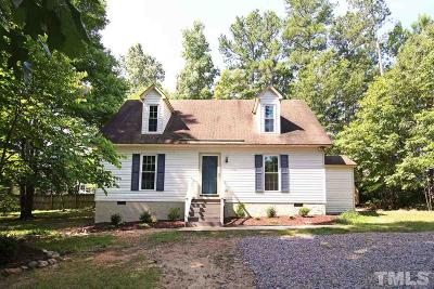 Youngsville Single Family Home Contingent: 116 Shearin Court