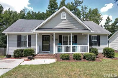 Youngsville NC Single Family Home Contingent: $170,000
