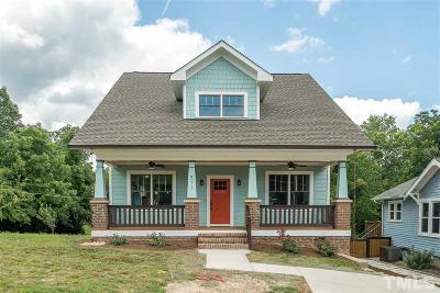 Durham Single Family Home For Sale: 511 Gurley Street