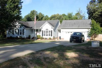 Youngsville Single Family Home Contingent: 65 Prestwould Drive