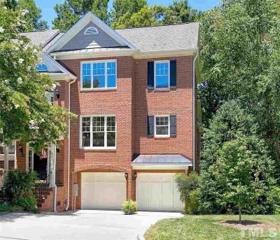 Cary Townhouse For Sale: 123 Lions Gate Drive