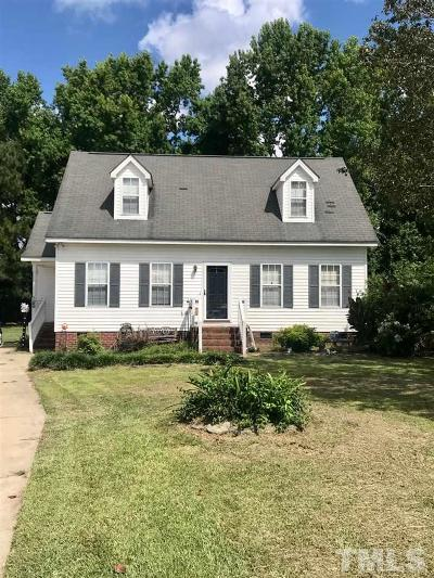 Sampson County Single Family Home For Sale: 215 Jackson Trail
