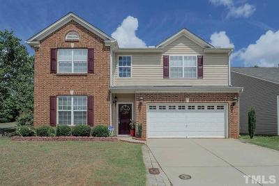 Holly Springs Single Family Home Pending: 400 Cline Falls Drive