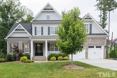 Cary Single Family Home Contingent: 104 Beacon Hollow Place