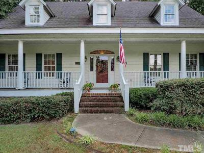 Fuquay Varina Single Family Home For Sale: 4724 Shady Greens Drive