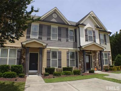 Rolesville Townhouse Pending: 204 Morgan Brook Way