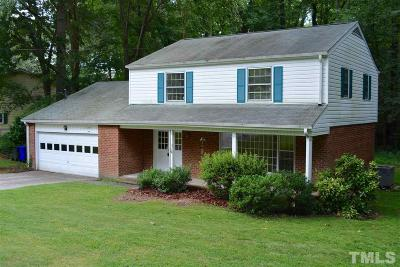 Chapel Hill Single Family Home For Sale: 1100 Willow Drive