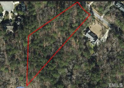 Wake County Residential Lots & Land Contingent: 5216 Leiden Lane