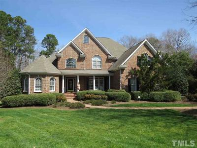 Raleigh Single Family Home For Sale: 1201 Falls Bridge Drive