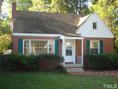 Pittsboro Rental Pending: 63 Launis Street