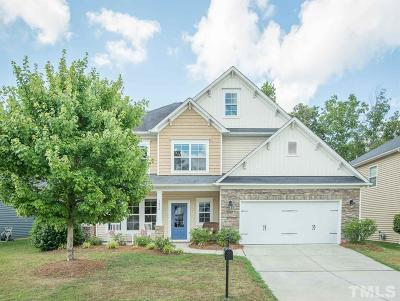 Fuquay Varina Single Family Home Contingent: 1854 Landstrom Lane