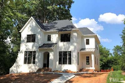 Raleigh Single Family Home For Sale: 312 Furches Street