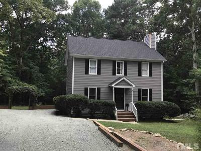 Chapel Hill Single Family Home Contingent: 508 Highland Trail