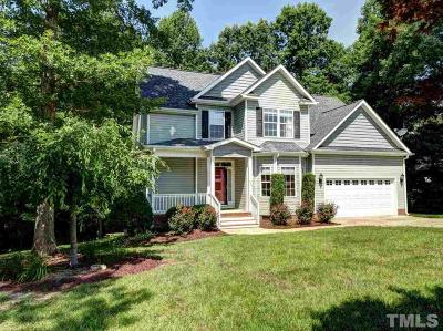 Fuquay Varina Single Family Home Contingent: 350 Wyndham Place Drive