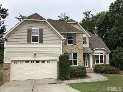 Youngsville Single Family Home For Sale: 25 Nettletree Creek Court