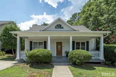 Chapel Hill Single Family Home Contingent: 213 Old Barn Lane