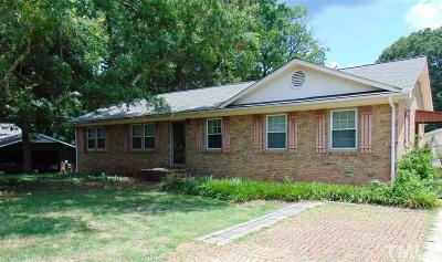 Durham Single Family Home For Sale: 243 Olive Branch Road
