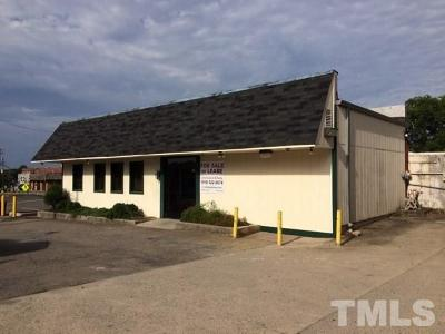 Chatham County Commercial Pending: 37 Hillsboro Street