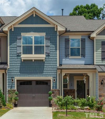 Wakefield Townhouse For Sale: 2717 Cypress Pointe Lane