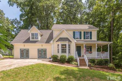 Garner Single Family Home Contingent: 105 Heron Circle