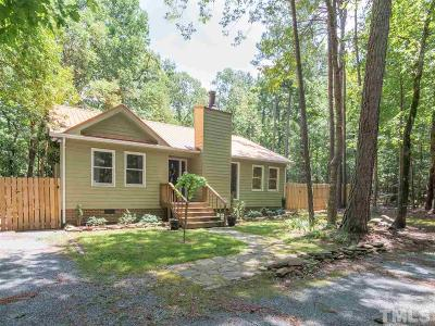 Chapel Hill Single Family Home Contingent: 9204 Coach Way