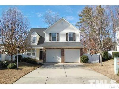 Apex Single Family Home Pending: 205 Sunshine Crest Court