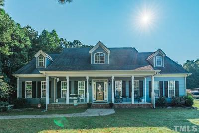 Zebulon Single Family Home For Sale: 3600 Lillie Branch Drive