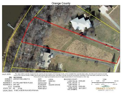 Orange County Residential Lots & Land For Sale: 4734 Old Lake Trail