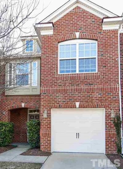 Cary NC Townhouse For Sale: $262,500