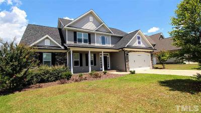Knolls At The Neuse Single Family Home For Sale: 56 Treewood Lane
