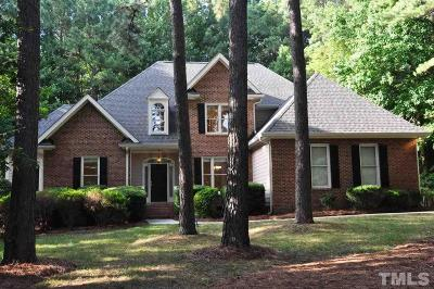 Raleigh Single Family Home For Sale: 4908 Boulder Creek Lane