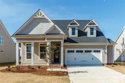 The Legacy At Jordan Lake Single Family Home For Sale: 33 Village Walk Drive