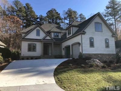 Chapel Hill Single Family Home For Sale: 19236 Stone Brook