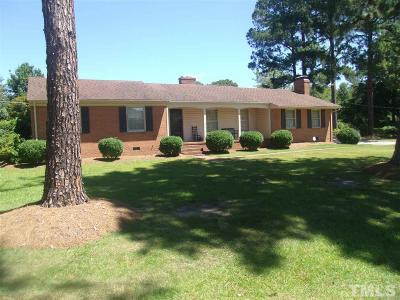 Dunn Single Family Home For Sale: 127 Fairfield Circle
