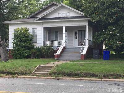 Siler City Multi Family Home For Sale: 510 N Second Avenue