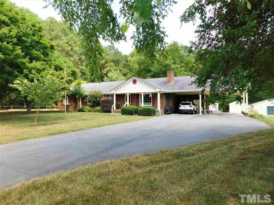Knightdale Single Family Home Pending: 1241 Hodge Road